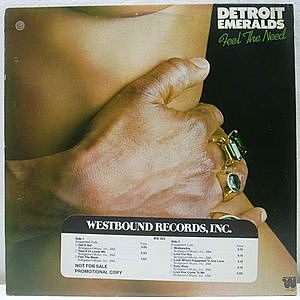 レコード画像:DETROIT EMERALDS / Feel The Need