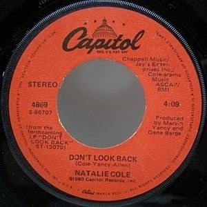 レコード画像:NATALIE COLE / Don't Look Back