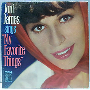 レコード画像:JONI JAMES / Sings My Favorite Things