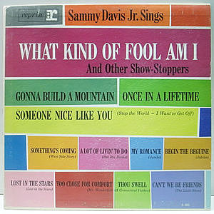 レコード画像:SAMMY DAVIS JR. / Sings What Kind Of Fool Am I And Other Show-Stoppers