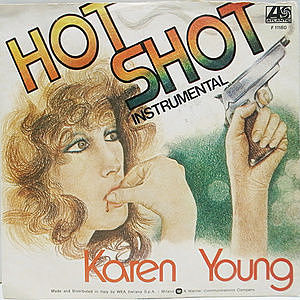 レコード画像:KAREN YOUNG / Hot Shot