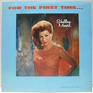 レコード画像:SHELLEY MOORE / For The First Time