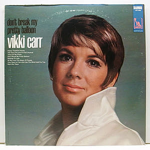 レコード画像:VIKKI CARR / Don't Break My Pretty Balloon