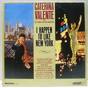 レコード画像:CATERINA VALENTE / I Happen To Like New York