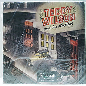 レコード画像:TEDDY WILSON / Teddy Wilson And His All-stars