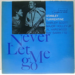 レコード画像:STANLEY TURRENTINE / Never Let Me Go