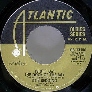 レコード画像:OTIS REDDING / (Sittin' On) The Dock Of The Bay / My Lover's Prayer