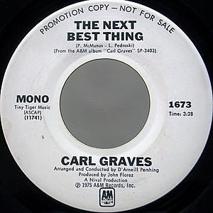 レコード画像:CARL GRAVES / The Next Best Thing