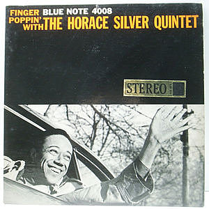 レコード画像:HORACE SILVER / Finger Poppin' With The Horace Silver Quintet