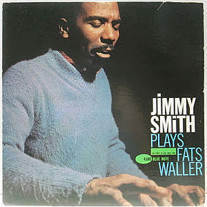 レコード画像:JIMMY SMITH / Plays Fats Waller