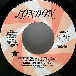 レコード画像:SOUL ON DELIVERY / Hustle (Dance Of The Day)