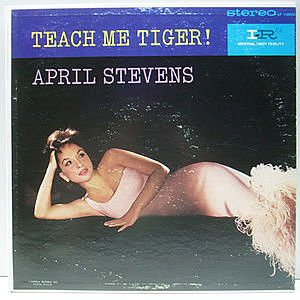 レコード画像:APRIL STEVENS / Teach Me Tiger