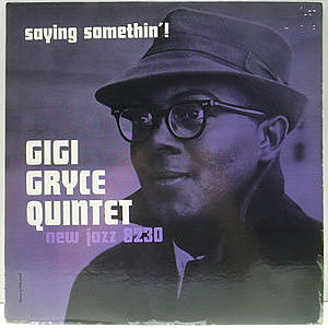 レコード画像:GIGI GRYCE / Saying Somethin