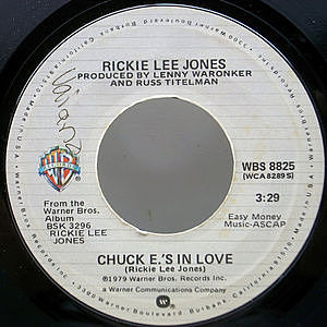 レコード画像:RICKIE LEE JONES / Chuck E.'s In Love