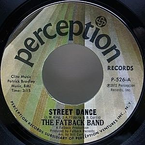 レコード画像:FATBACK BAND / Street Dance