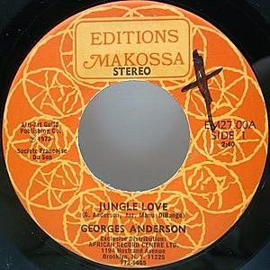 レコード画像:GEORGES ANDERSON / Jungle Love