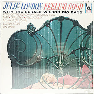 レコード画像:JULIE LONDON / Feeling Good