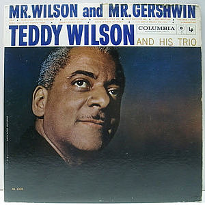レコード画像:TEDDY WILSON / Mr. Wilson And Mr. Gershwin