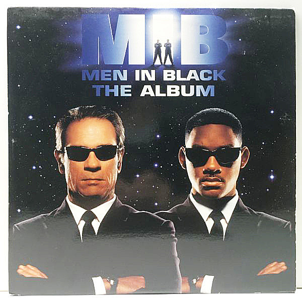レコードメイン画像:【PATRICE RUSHEN, MARVIN GAYE使い】2Lp 良好!! USオリジ O.S.T. Men In Black - The Album ('97 Columbia) WILL SMITH, The Roots NAS