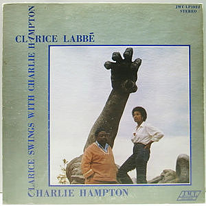 レコード画像:CLARICE LABBE / CHARLIE HAMPTON / Clarice Swings With Charlie Hampton
