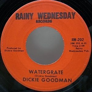 レコード画像:DICKIE GOODMAN / Watergrate