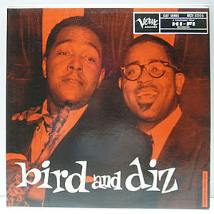レコード画像:CHARLIE PARKER / DIZZY GILLESPIE / Bird And Diz