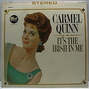 レコード画像:CARMEL QUINN / It's The Irish In Me