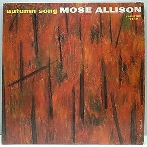 レコード画像:MOSE ALLISON / Autumn Song