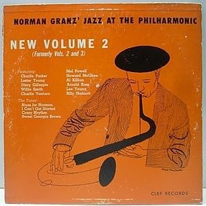 レコード画像:JAZZ AT THE PHILHARMONIC / CHARLIE PARKER / LESTER YOUNG / Norman Granz' Jazz At The Philharmonic (New Volume 2)