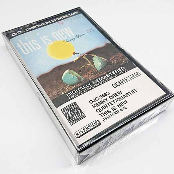 レコードメイン画像:未開封 KENNY DREW QUINTET / QUARTET This Is New ('90 Riverside) CASSETTE TAPE/カセット テープ