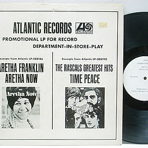 レコード画像:ARETHA FRANKLIN / RASCALS / Promotional LP For Record Department-In-Store-Play
