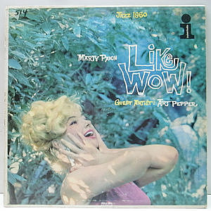 レコード画像:MARTY PAICH / ART PEPPER / Like Wow! Jazz 1960