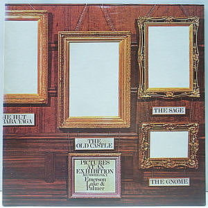 レコード画像:EMERSON, LAKE & PALMER / Pictures At An Exhibition