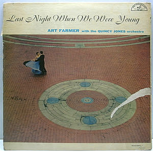 レコード画像:ART FARMER / Last Night When We Were Young