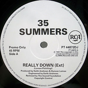 レコード画像:35 SUMMERS / Really Down