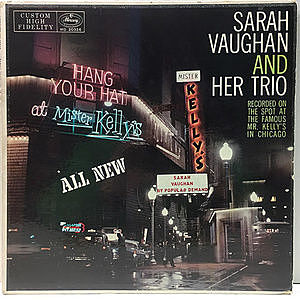 レコード画像:SARAH VAUGHAN / At Mister Kelly's