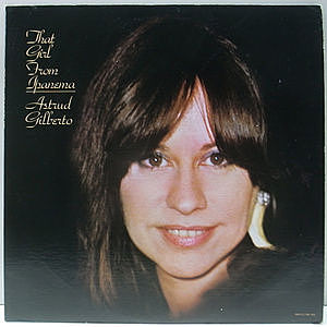 レコード画像:ASTRUD GILBERTO / That Girl From Ipanema