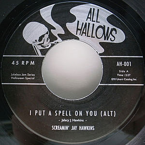 レコード画像:SCREAMIN' JAY HAWKINS / I Put A Spell On You (Alt)