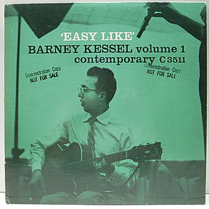 レコード画像:BARNEY KESSEL / Easy Like (Vol.1)