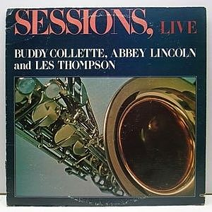 レコード画像:BUDDY COLLETTE / ABBEY LINCOLN / Sessions, Live