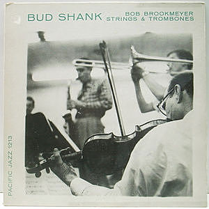 レコード画像:BUD SHANK / BOB BROOKMEYER / The Saxophone Artistry Of Bud Shank