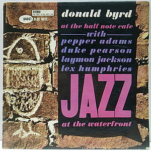 レコード画像:DONALD BYRD / At The Half Note Cafe, Vol. 2