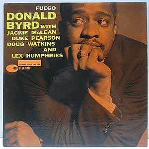 レコード画像:DONALD BYRD / Fuego