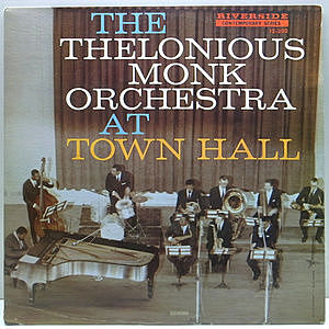 レコード画像:THELONIOUS MONK / At Town Hall