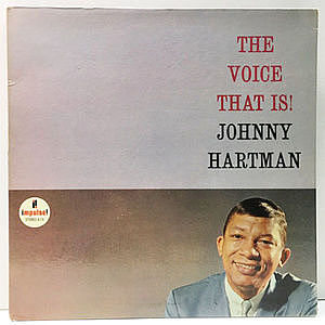 レコード画像:JOHNNY HARTMAN / The Voice That Is!