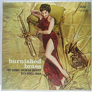 レコード画像:GEORGE SHEARING / Burnished Brass