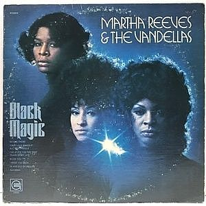 レコード画像:MARTHA REEVES And THE VANDELLAS / Black Magic