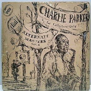 レコード画像:CHARLIE PARKER / Alternate Masters Vol. 2