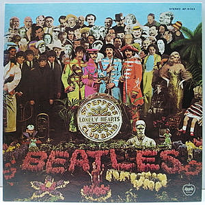 レコード画像:BEATLES / Sgt. Pepper's Lonely Hearts Club Band