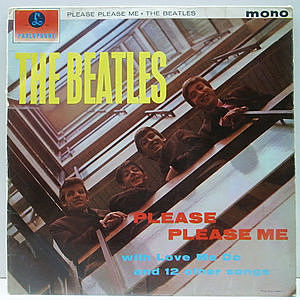 レコード画像:BEATLES / Please Please Me